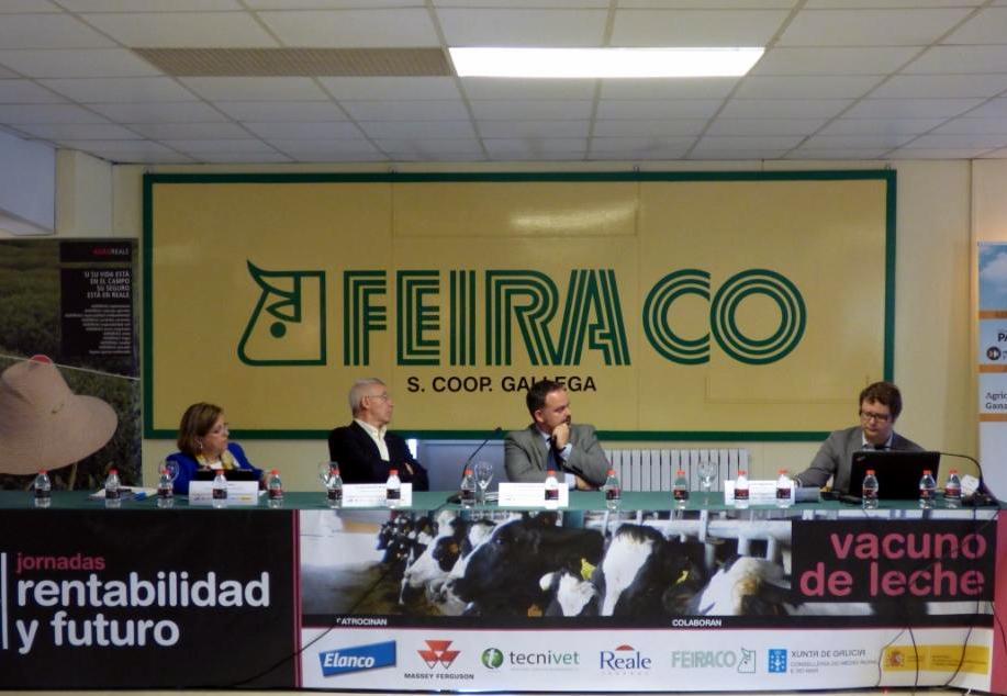 Jornada «Rendibilidade e Futuro do Gando de Vacún de leite en Galicia»