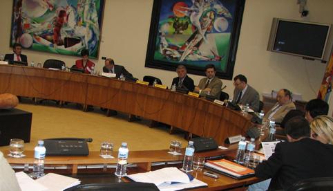 AGACA no Parlamento Galego - 2006