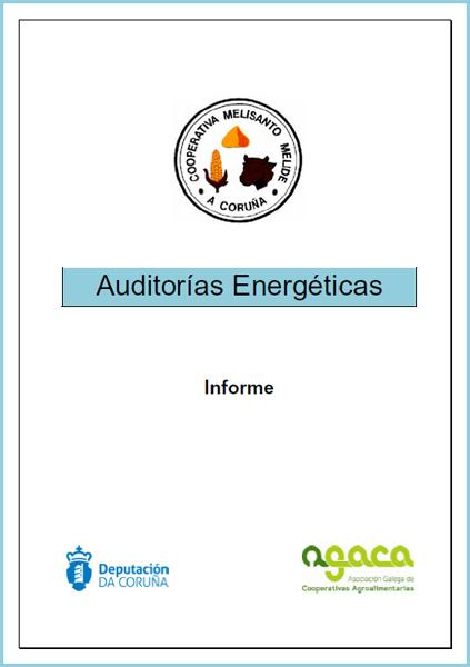 Auditoría Enerxética. Melisanto 2013