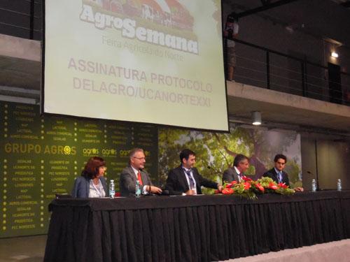 Delagro asina un acordo coa portuguesa Ucanorte para crear unha central de compras