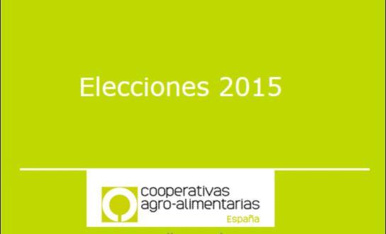 Propostas de Cooperativas Agro-alimentarias de España aos partidos políticos de cara ás Eleccións Xerais