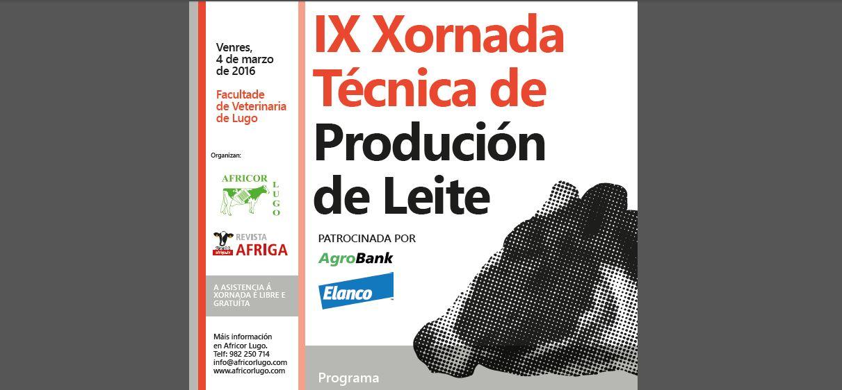 IX Xornada Técnica de Produción de Leite – Africor