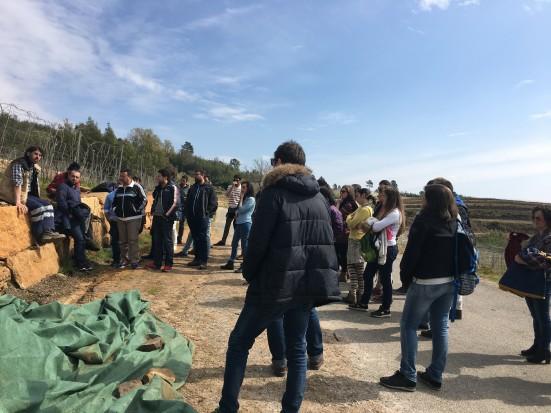 Estudiantes de Ponteareas descubren con AGACA y Rede Eusumo el funcionamiento de las cooperativas