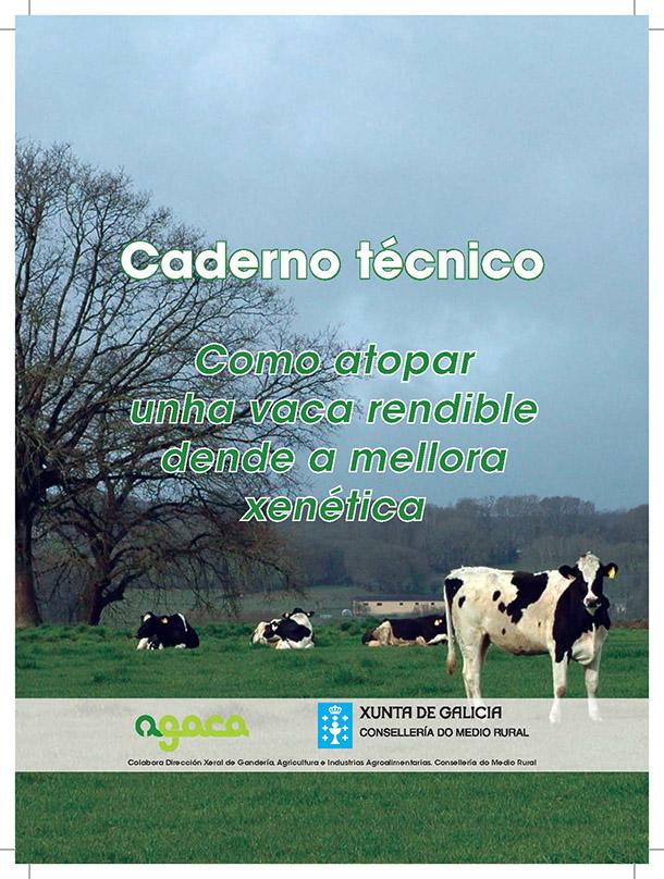 Caderno técnico: Como atopar unha vaca rendible dende a mellora xenética