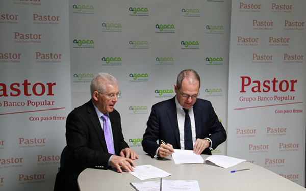 Pastor y AGACA firman un convenio para impulsar a las cooperativas agrarias de Galicia