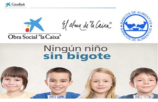 CaixaBank e Bancos de Alimentos inician unha campaña de recollida de leite