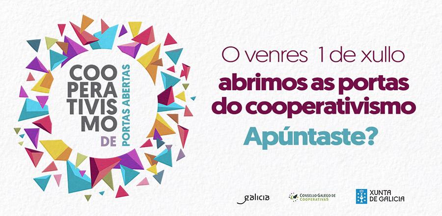 Campaña institucional – Abre as portas da túa cooperativa o 1 de xullo