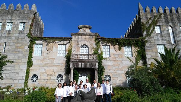Doce chefs internacionales procedentes de Asia, Amércia y Europa visitan Pazo Baión