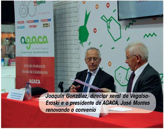 O acordo entre cooperativas de horta e Vegalsa-Eroski leva a facturar 1.251.000 euros