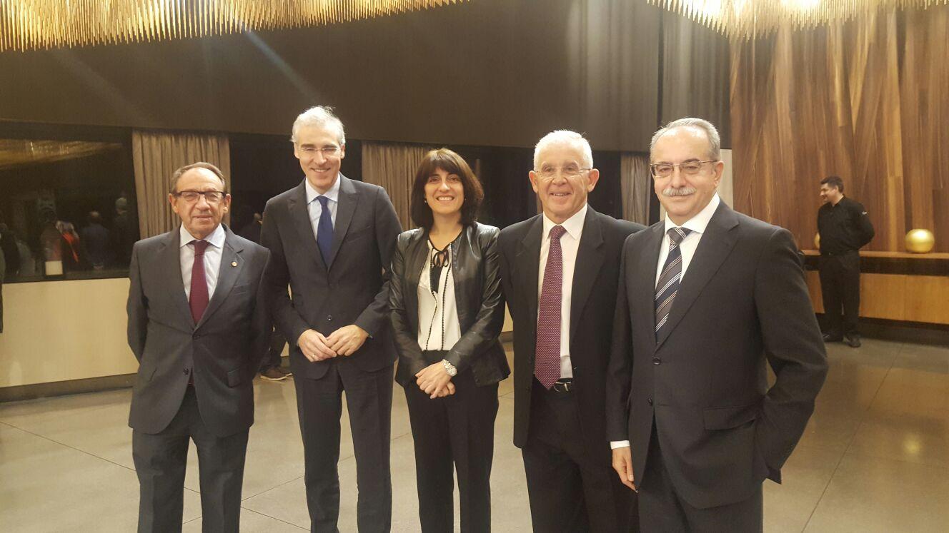 """José Montes recolleu onte o premio """"Liderazgo Empresarial"""""""