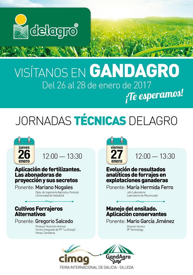 DELAGRO organiza jornadas técnicas sobre fertilizantes, forrajes y ensilado en Abanca Cimag-GandAgro