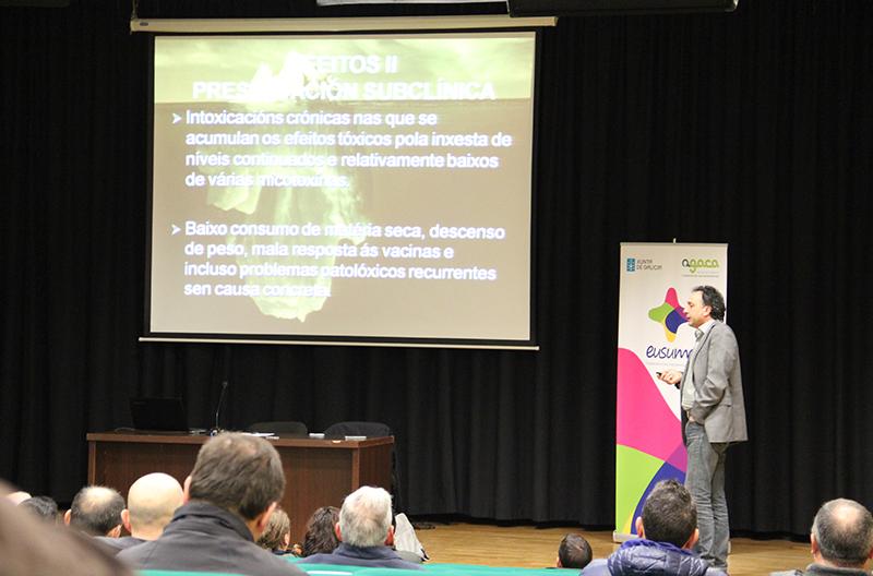 El valor del cooperativismo en el rural y la importancia de controlar la salud animal, claves del ciclo de Jornadas iniciado ayer en Santa Comba