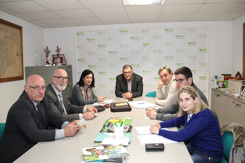 Tres grupos de trabajo de proyectos Feader se reunieron ayer en AGACA