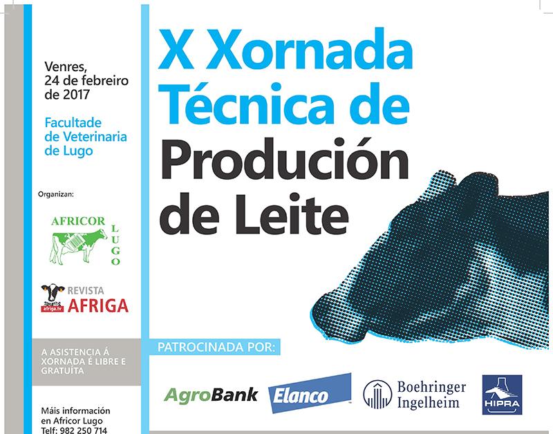 O venres en Lugo será a X Xornada Técnica de Produción de Leite de Afriga e Africor