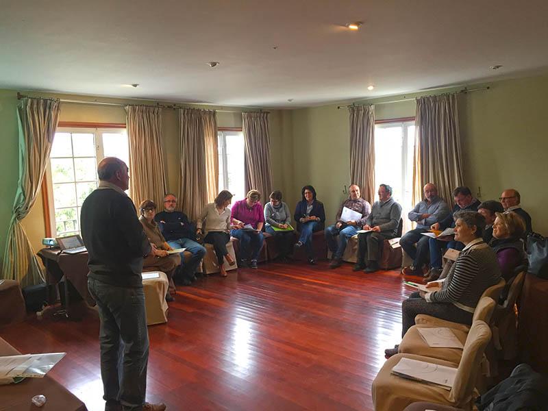 Rede Eusumo y AGACA estrenan en Condes de Albarei un ciclo de talleres de Comunicación