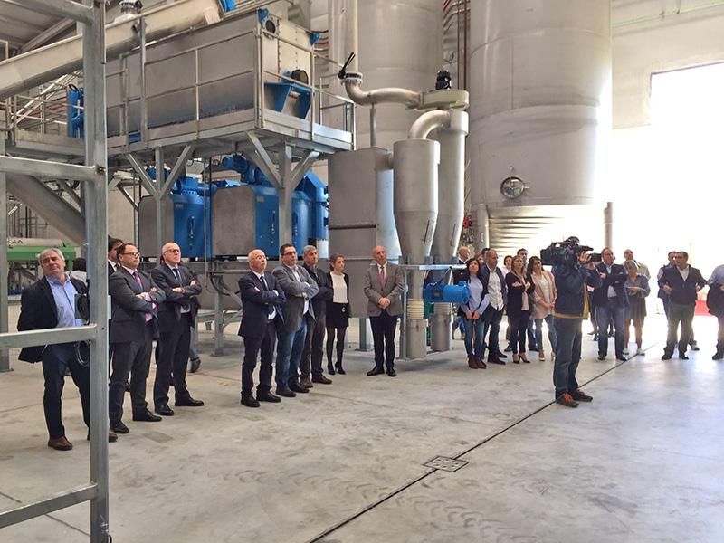 Gesuga inaugura en Cerceda unha nova Planta de valorización de subprodutos animais