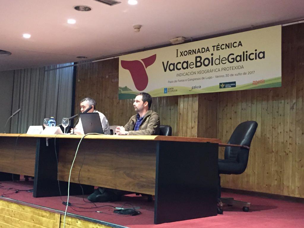 Celebrada la I Jornada Técnica de Vaca e Boi de Galicia