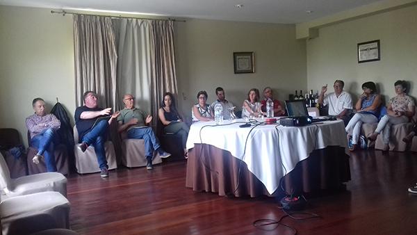 Sesión piloto de Totcoop+i en Condes de Albarei