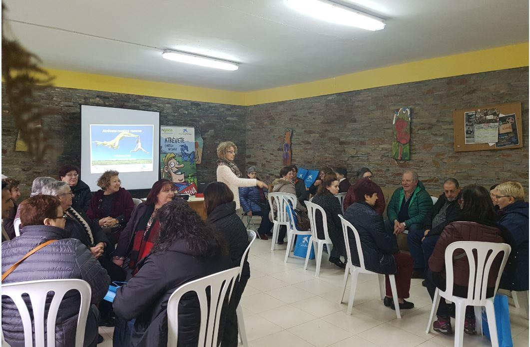 A Xuntanza reunió a una treintena de mujeres rurales en una jornada de empoderamiento