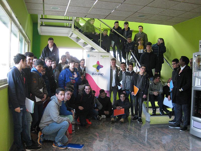 EFA Fonteboa inaugura el nuevo ciclo de Rede Eusumo de difusión del cooperativismo entre estudiantes