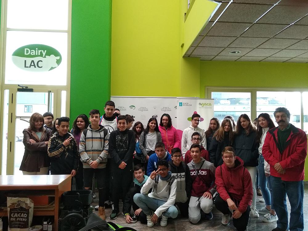Taller de Economía social en Dairylac para 30 estudantes lucenses