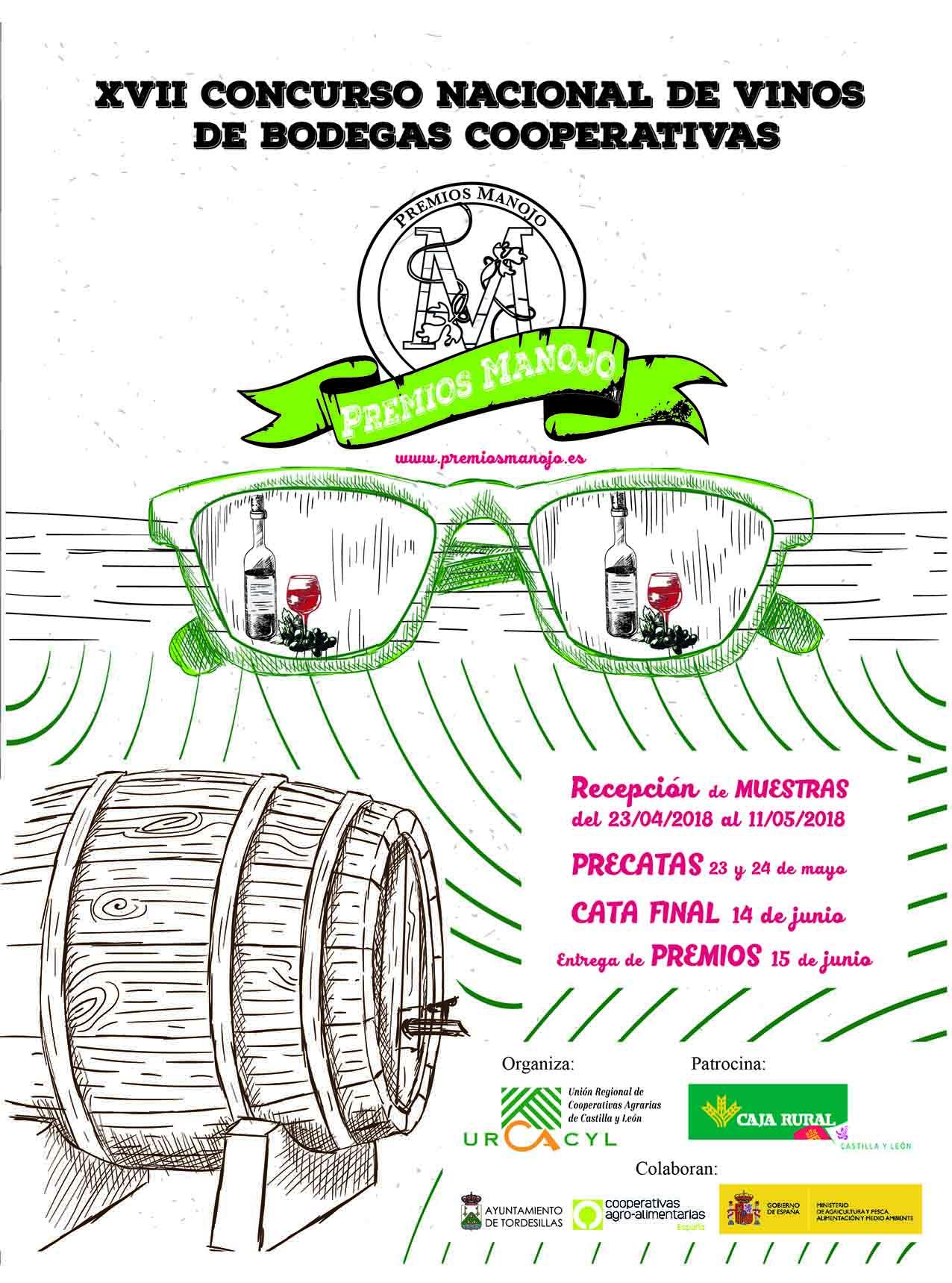 Continúa aberto o prazo de presentación de viños aos Premios Manojo ata o 11 de maio