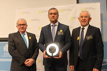 CLUN, premio «Cooperativa del Año» de Cooperativas Agro-alimentarias de España