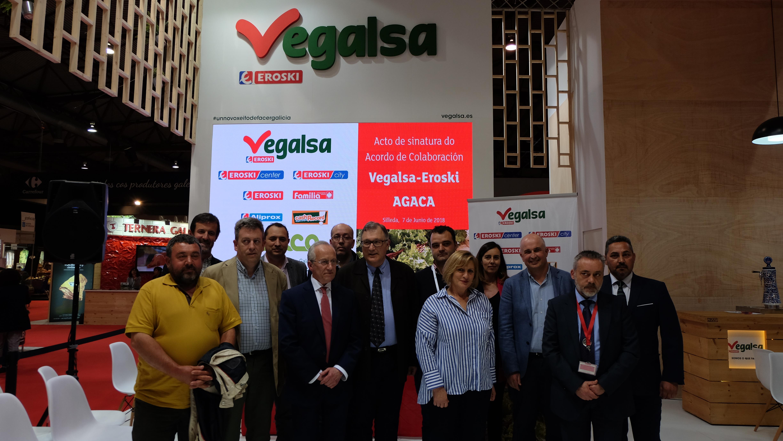 El Convenio para la comercialización de productos agrarios de calidad diferenciada de Vegalsa-Eroski y AGACA prevé ampliar su número de referencias e incluir productos ecológicos de la huerta gallega