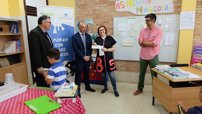 Un alumno del CEIP de Castrelo gana la I Edición del Concurso de Pequeños Relatos AGACA en la categoría de 3º EP
