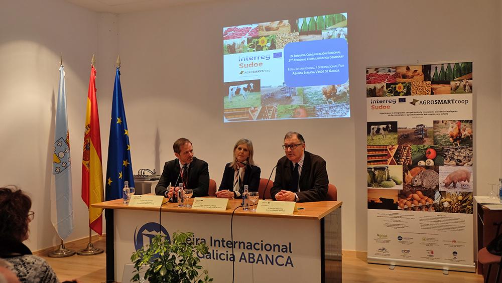 AGROSMARTcoop ofrece en Silleda una visión global del cooperativismo en regiones de España, Francia y Portugal