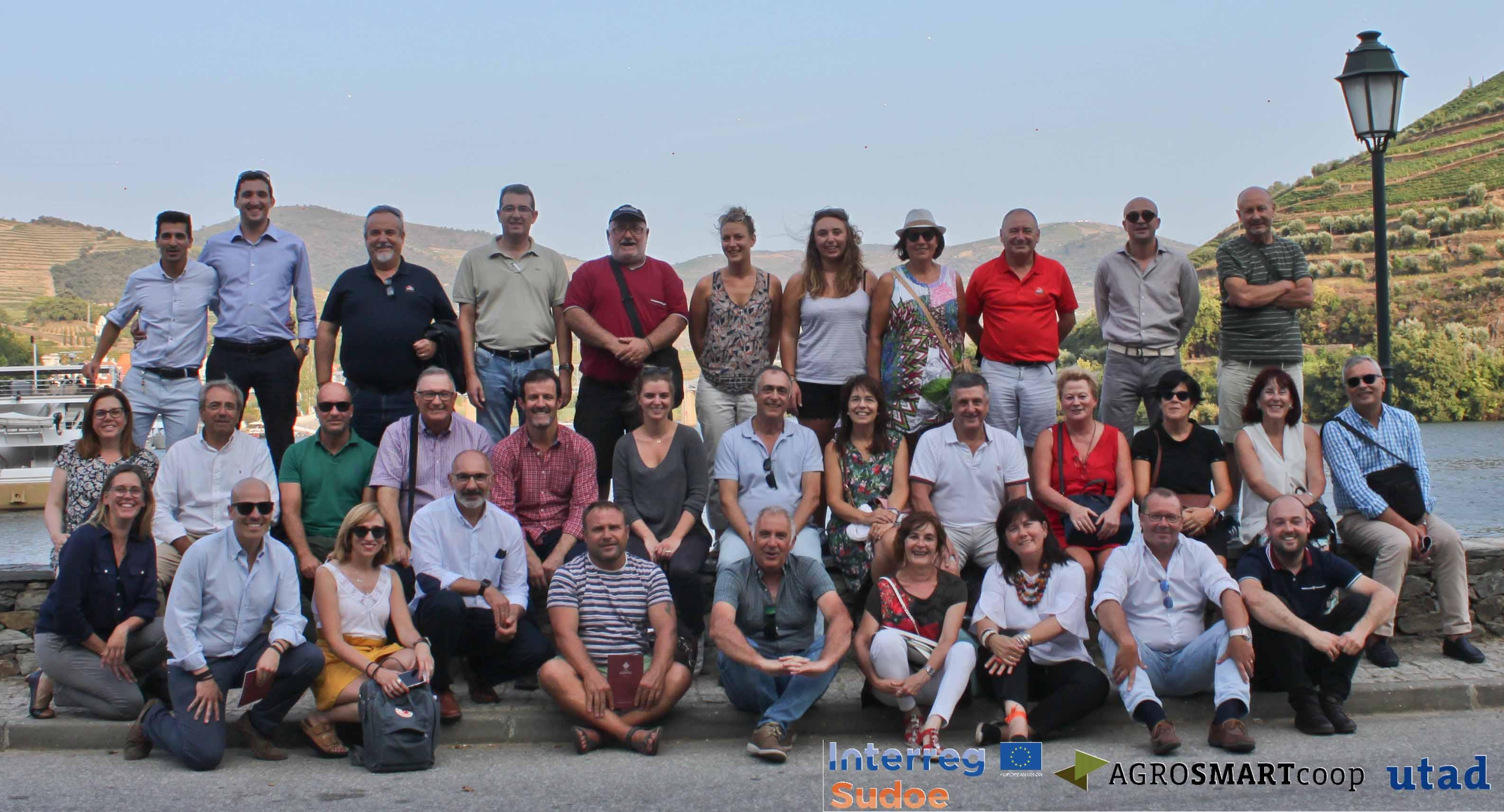 Cooperativas de Galicia, Castilla-La Mancha, Extremadura, País Vasco, Portugal y Francia se reúnen en la AgroSemana 2018 en Portugal