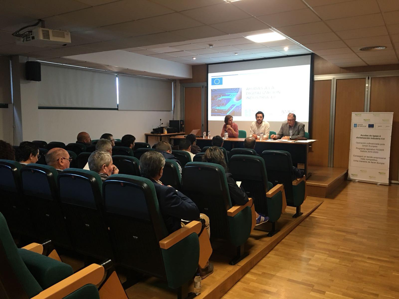 Viña Costeira acoge la primera reunión conjunta entre varias bodegas gallegas en el marco del proyecto  Industria 4.0