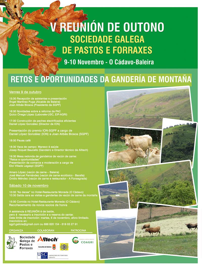 A Sociedade Galega de Pastos e Forraxes presenta o Premio ION-SGPF