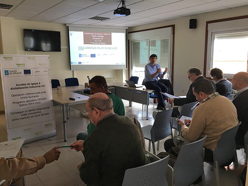 Valdeorras acoge el último Obradoiro Industria 4.0 para gestión de viñas