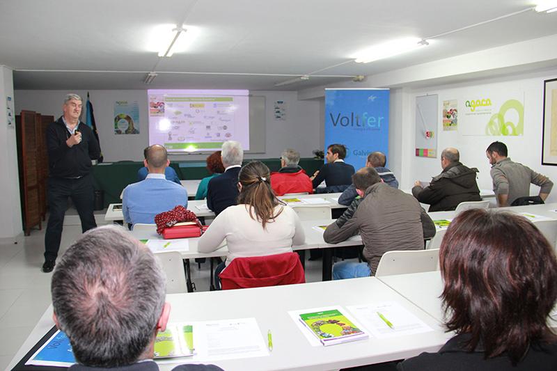 Voltfer y AGACA muestran cómo ahorrar a través de las energías renovables