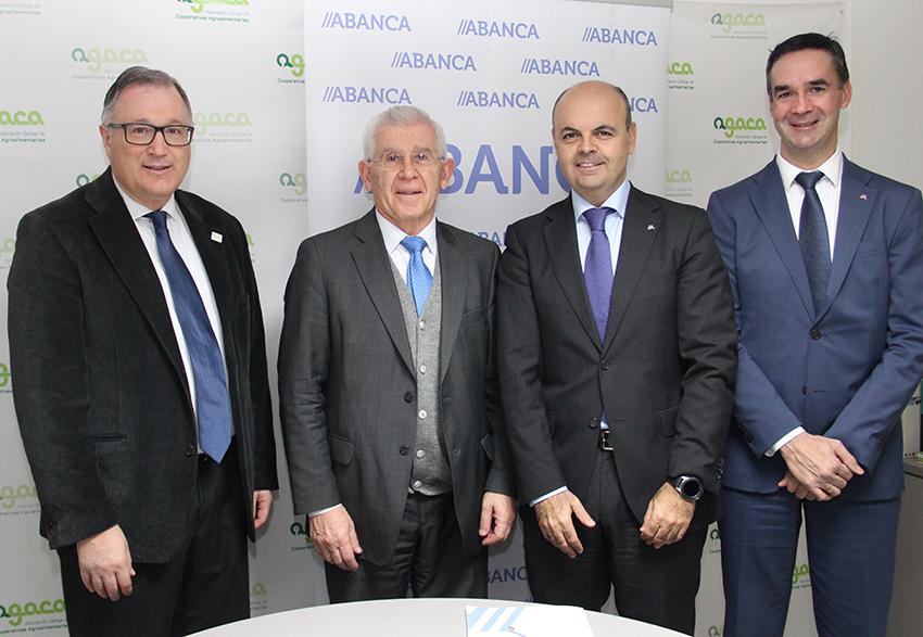 AGACA e ABANCA renovan o convenio de colaboración para facilitar o financiamento ao cooperativismo agroalimentario galego