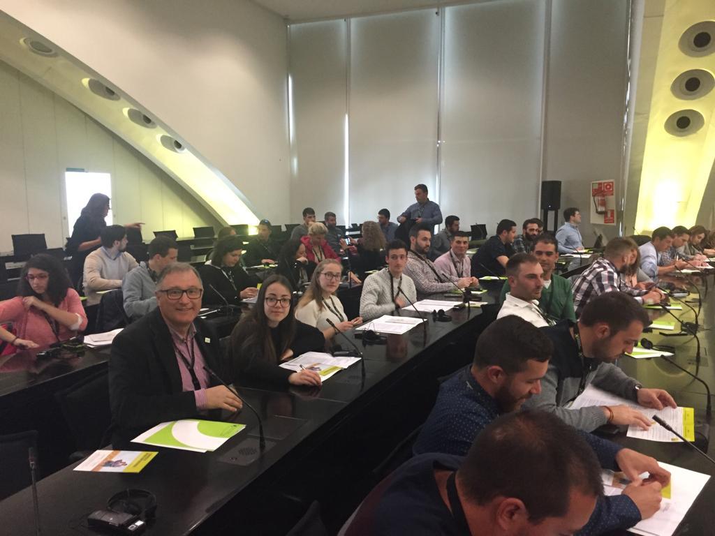 Unha delegación galega participa no I Congreso de Xuventude  Cooperativista