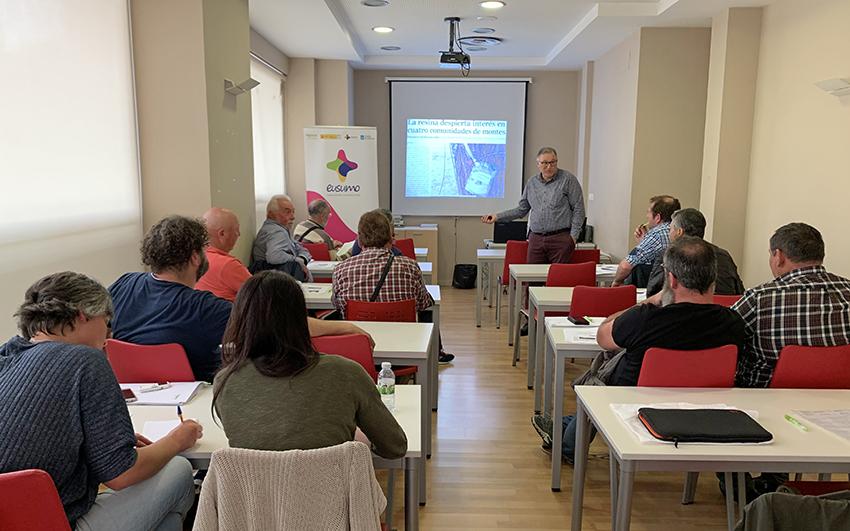 El obradoiro sobre montes vecinales termina hoy en Pontevedra hablando de CO2  y de instrumentos de ordenación forestal
