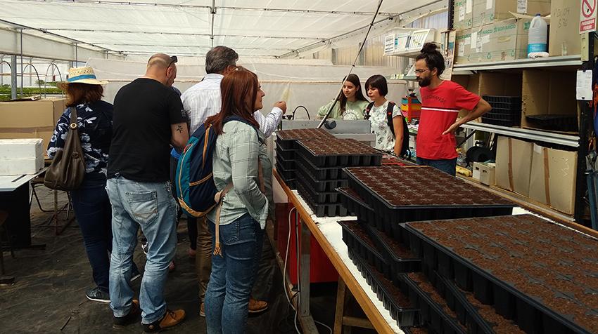 Terra de Trasancos mostra a estudantes composteláns o potencial do cooperativismo