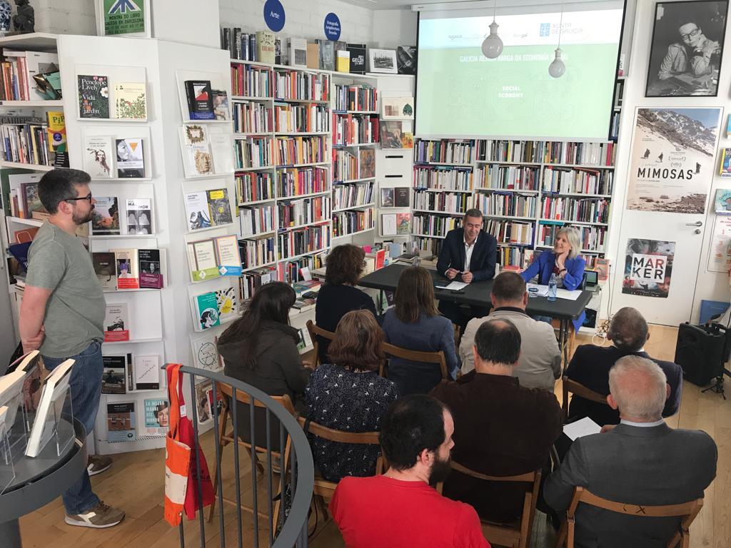 El Foro pola Economía Social Galega presentó los actos de celebración de Galicia como Región Amiga de la Economía Social 2019