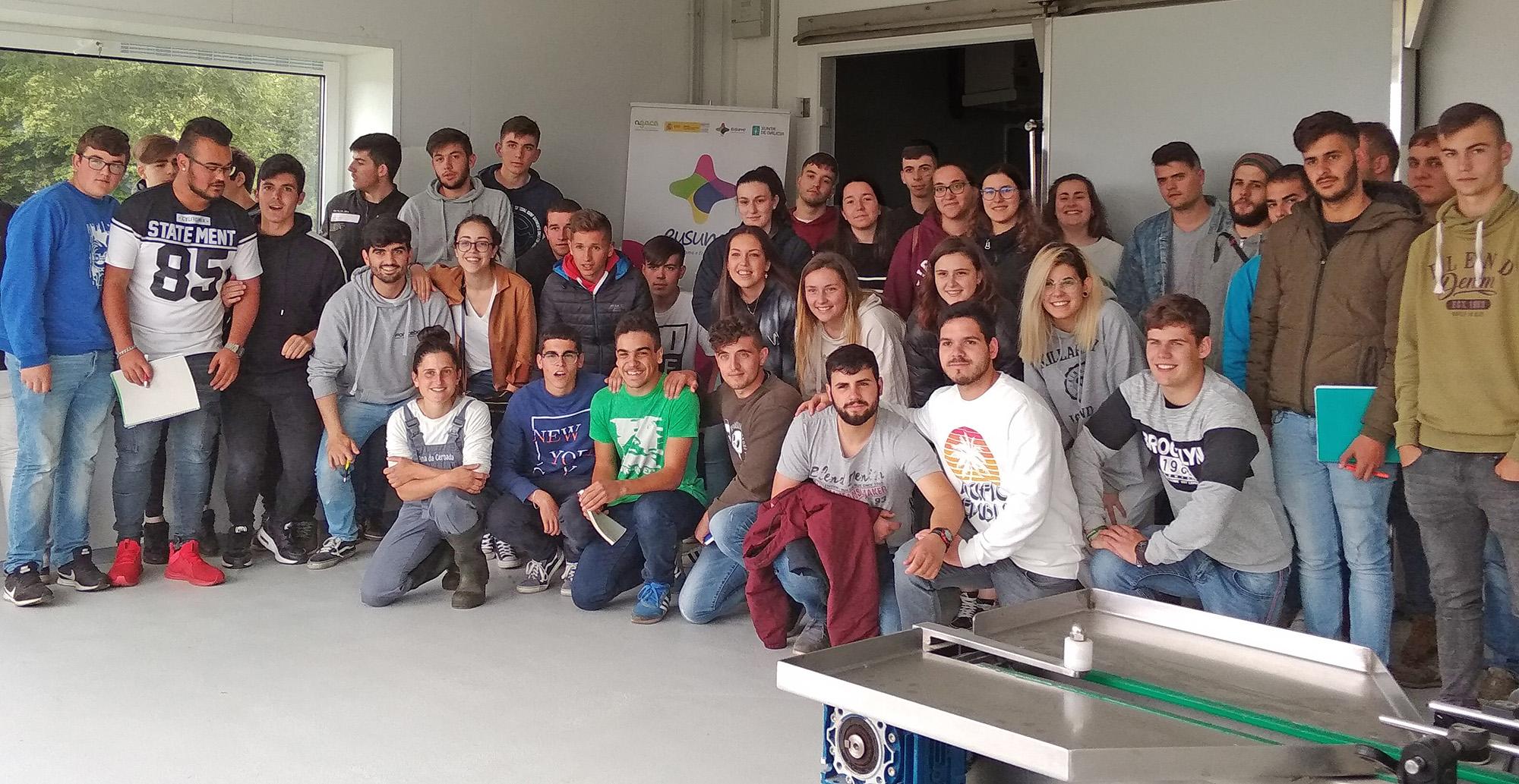 Estudiantes de Fonteboa participaron en un taller sobre cooperativismo en As Vacas da Ulloa