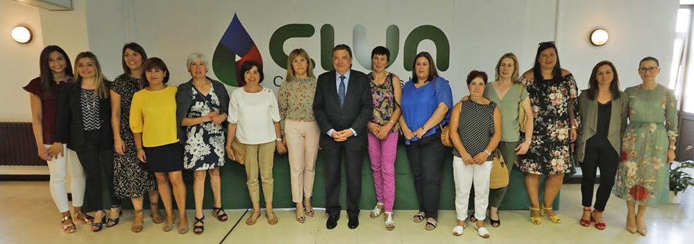 O Ministro Luis Planas visita Clesa e Clun durante a súa estancia en Galicia