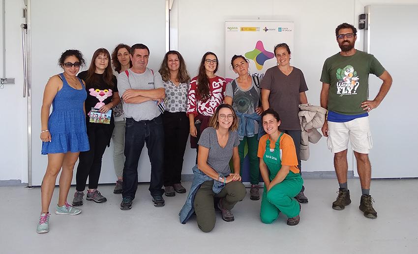 Personas desempleadas aprenden potencial del cooperativismo en As Vacas da Ulloa