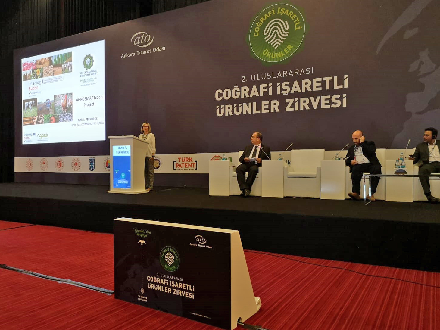 O proxecto europeo AGROSMARTcoop presentouse no II Cume de Indicacións Xeográficas, en Turquía