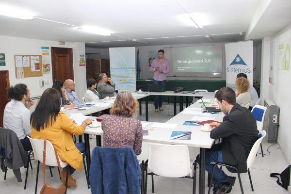 Expertos en protección de datos e ciberseguridade impartiron formación en AGACA para entidades de Economía Social