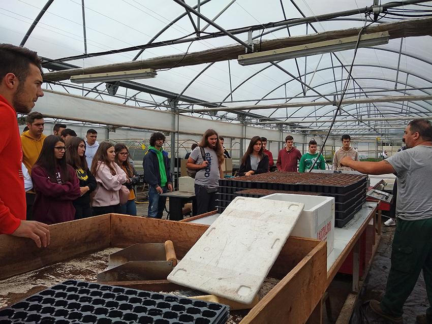 Trinta escolares de Sergude aprenden cooperativismo en Trasancos