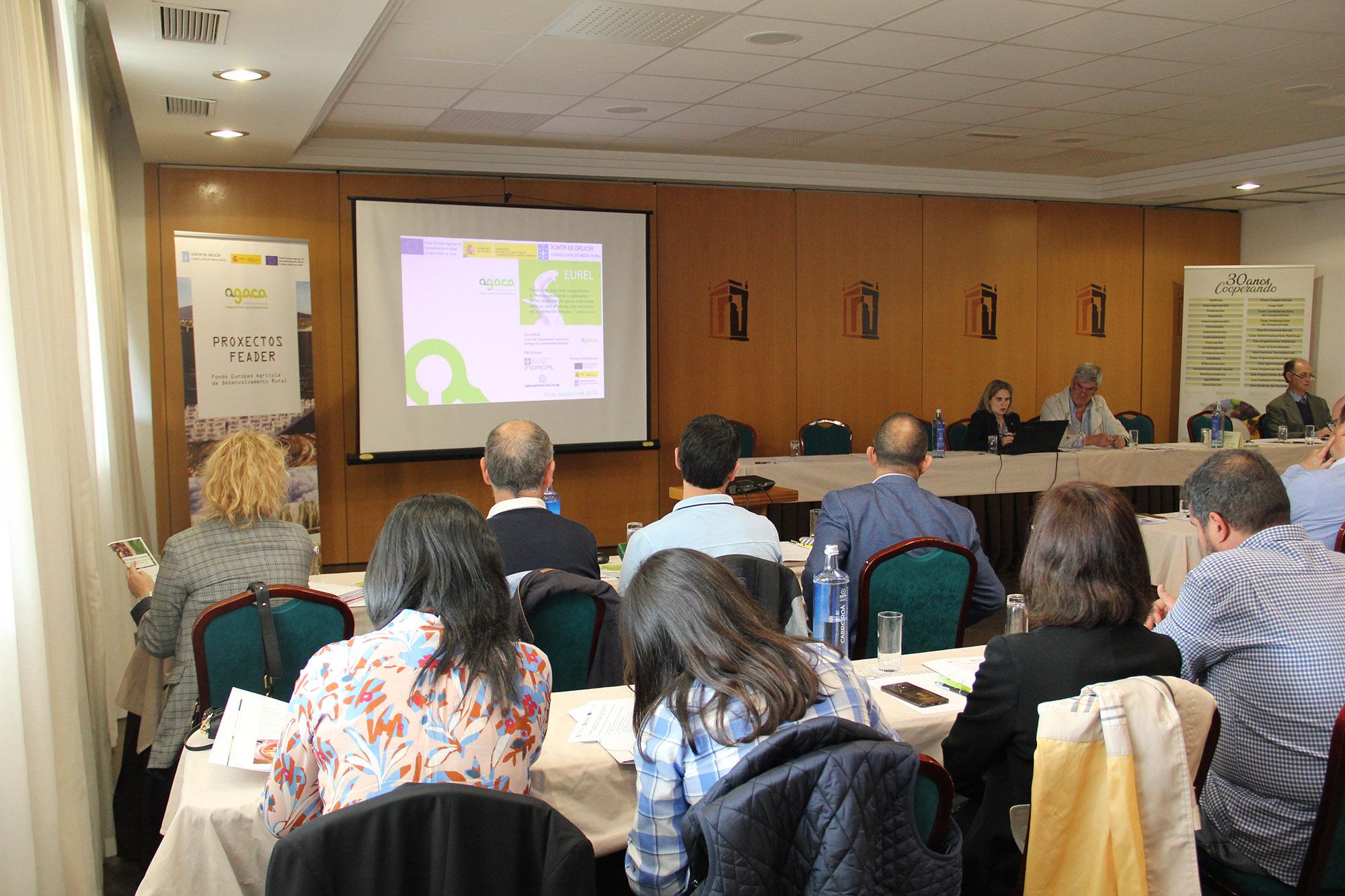 AGACA presentou os resultados de 7 proxectos  innovadores para o sector primario