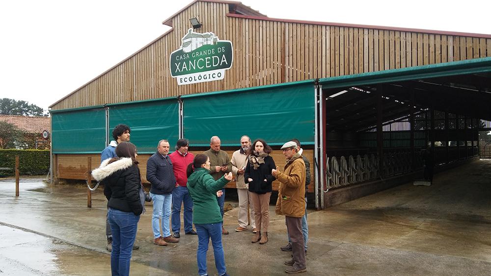 Agricultores e gandeiros portugueses participaron nun intercambio formativo en Galicia