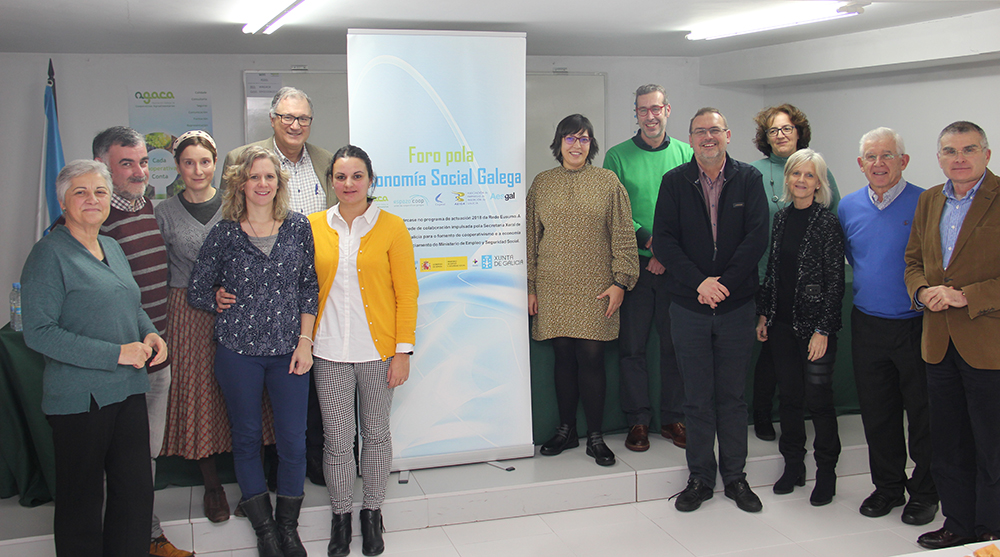 Última reunión do Foro pola Economía Social Galega en 2019