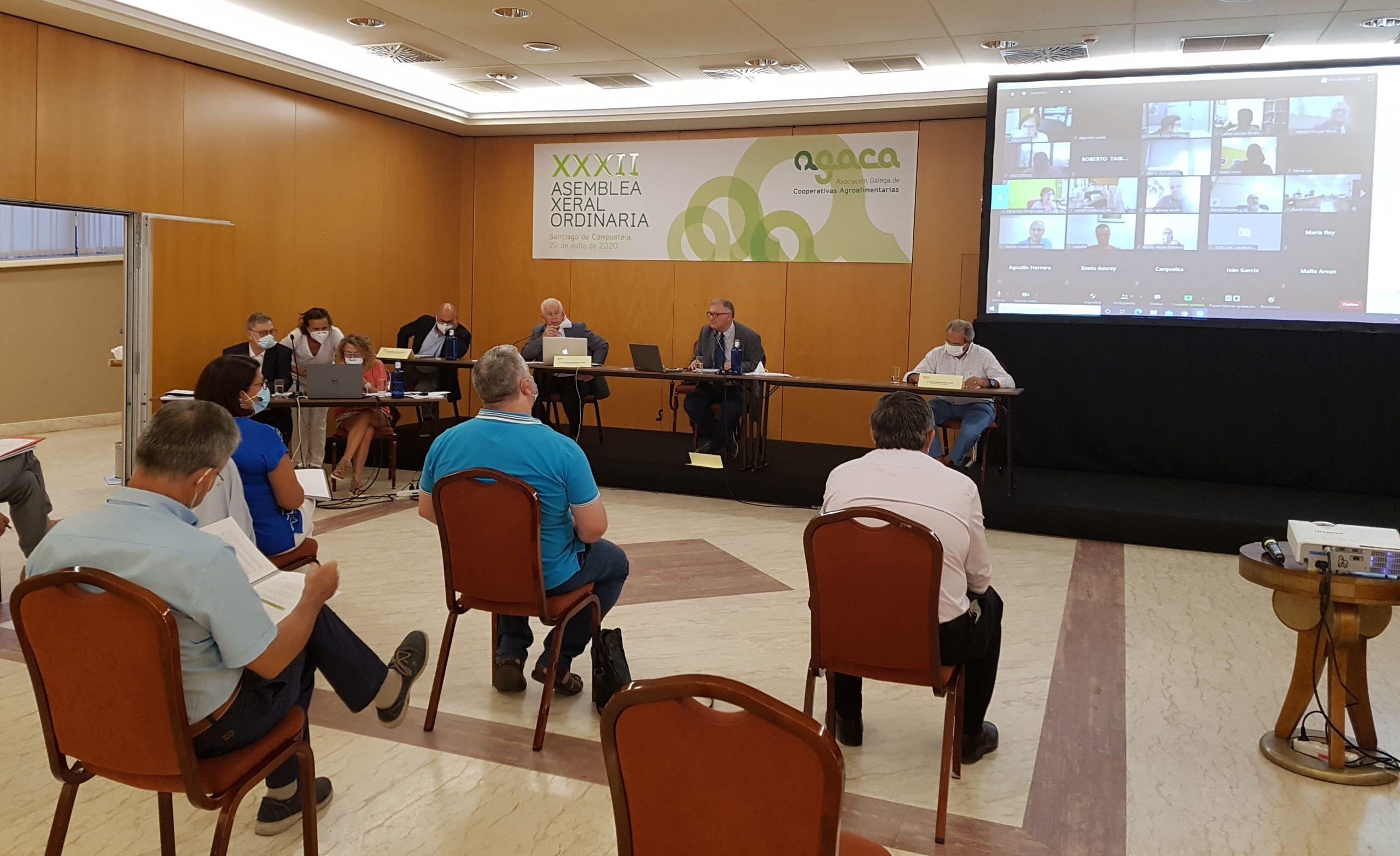 AGACA celebra a XXXII Asemblea Xeral Ordinaria preocupada pola reactivación económica e as negociacións da Reforma da PAC